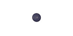 Matte Navy Blue Resin Round Cabochon 6mm