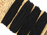 Black Hemp Twine Multi-Weight 10-20-35-48 lbs, 104 ft total