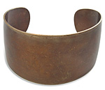 Vintaj Natural Brass One Size Layering Bangle 36mm