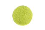 Lime Green Felt Round 20mm