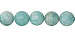 Peruvian Amazonite Round 10mm
