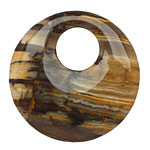 Outback Wood Jasper Off Center Donut 45mm