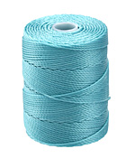 C-Lon Ice Blue (.5mm) Bead Cord