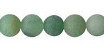 Green Aventurine (matte) Round 10mm