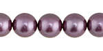 Lavender Shell Pearl Round 12mm