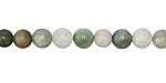 Burma Jade (multi) Round 6mm