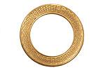 Brass Serpent Ring 31mm