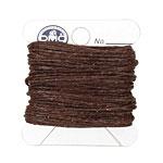 Dark Chocolate Irish Waxed Linen 4 ply