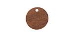 Walnut Wood Coin Focal 15mm