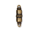 TierraCast Antique Brass (plated) Palace Magnetic Clasp Set 27x8mm