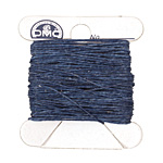 Royal Blue Irish Waxed Linen 2 ply