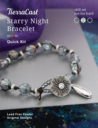 TierraCast Starry Night Bracelet Kit