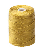 C-Lon Antique Gold (.5mm) Bead Cord
