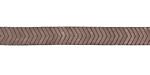 Mocha Hematite (matte) Chevron 6mm