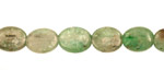 Green Kyanite Flat Oval 10x8mm