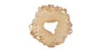 Champagne Luster Druzy Piece (w/ drill hole) 16-21x13-20mm