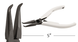 Lindstrom Supreme Bent Chain Nose Pliers