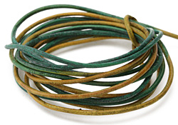 Natural Beryl Leather Cord 2mm