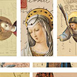 Nunn Design Angels Channel Bead Collage Sheet