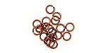 Antique Copper (plated) Round Jump Ring 4mm, 21 gauge