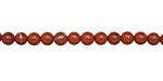 Red Jasper Round 4mm
