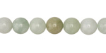 Burma Jade (light) Round 8mm