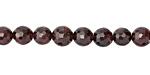 Garnet Faceted Round 6-7mm