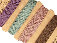 Vintage Hemp Twine 10 lb, 42 ft x 4 colors