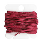Magenta Irish Waxed Linen 7 ply