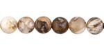 Wooden Jasper Round 10.5-11mm