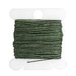 Dark Emerald Irish Waxed Linen 3 ply