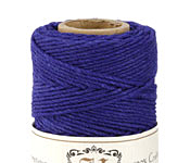 Royal Blue Hemp Twine 20 lb, 205 ft