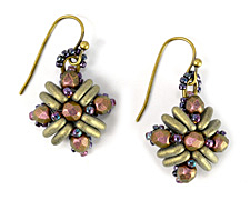 Teresa Earrings Pattern for CzechMates