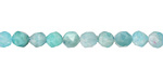 Brazil Amazonite Star Cut Round 5-6mm