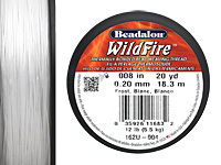 """WildFire Frost .008"""" Thread, 20 yards"""