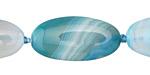 Cloud Agate Flat Oval 30x15mm