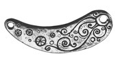 Green Girl Pewter Large Mystic Link 81x32mm
