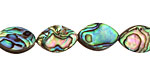 Abalone Horse Eye 15x10mm