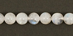 Moonstone (rainbow) Round 8mm
