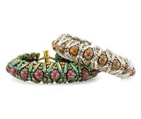 Denali Cuff Bracelet Pattern for CzechMates