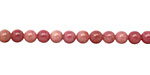 Rhodonite (A) Round 4mm
