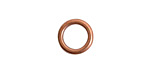 Nunn Design Antique Copper (plated) Open Frame Mini Hoop 12mm
