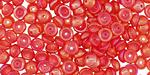 Iris Ruby Luster Teacup 2x4mm Seed Bead