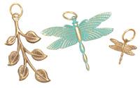 Vintaj Vogue Dragonfly Vines Assortment
