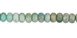 Russian Amazonite (Light) Rondelle 4x6mm