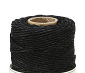 Black Hemp Twine 48 lb, 205 ft