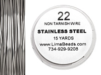 Parawire Stainless Steel 22 gauge, 15 yards
