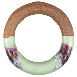 Meadow Half-Glazed Porcelain Ring Focal 47-50mm