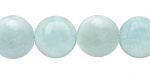 Amazonite Puff Coin 14mm