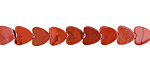 Red Jasper Heart 6mm